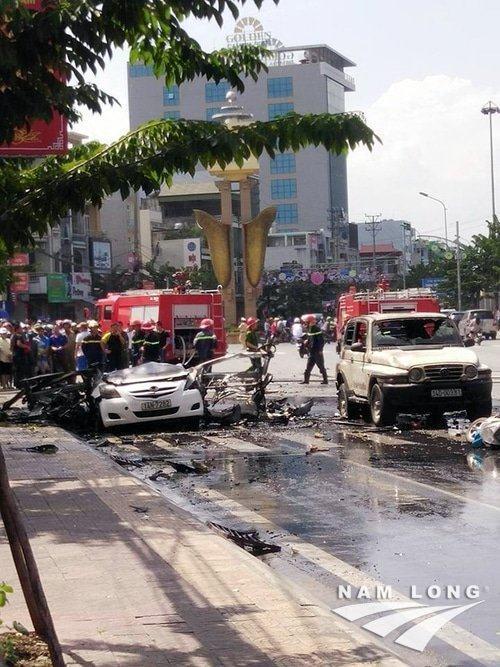 Tự tử trên taxi tại Cẩm Phả