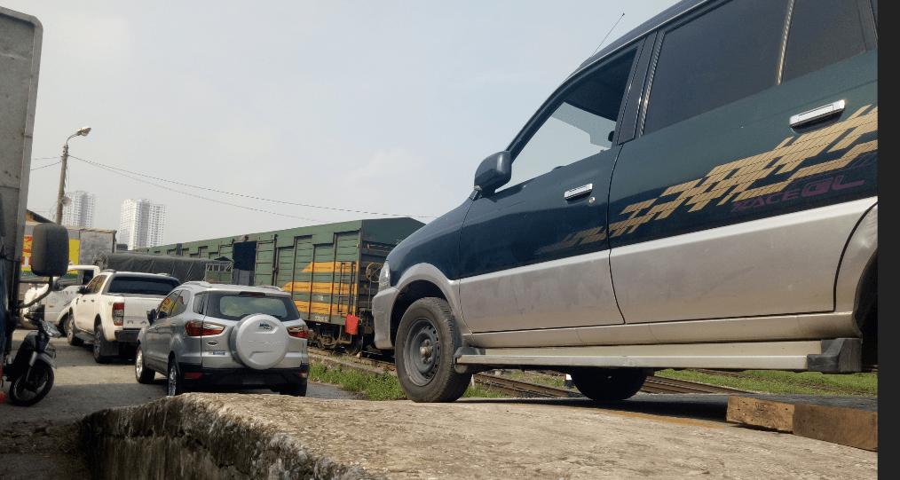 Gửi ô tô bằng đường sắt khi đi du lịch, phượt