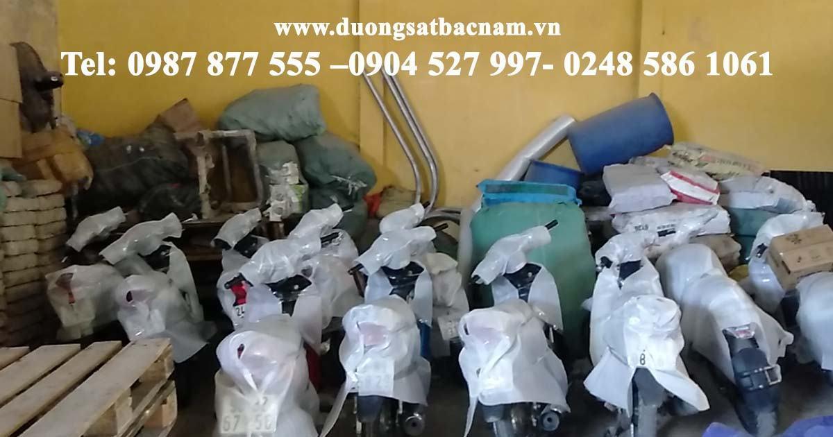 Báo giá gửi xe máy Hà Nội - Sài Gòn